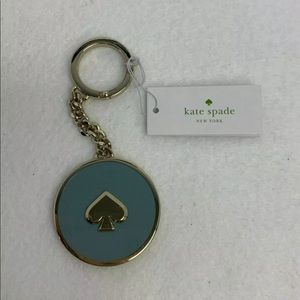 Kate Spade Enamel Spade Fob Key Chain